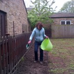 Alison, Urban Bees, sowing wild flower meadow