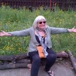 Kathryn's loving our wildflower meadow