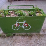 cyclelockwithwildflowers